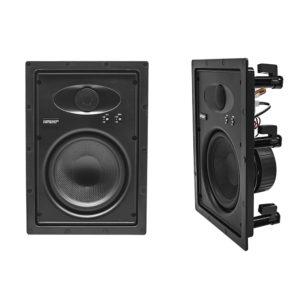 "in-wall speakers 8"" Earthquake"