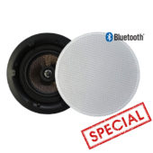 In-Ceiling Speakers with Bluetooth