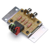 Speaker to line-level adapter