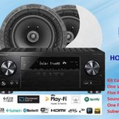 5.1 Home-Theatre Speaker Package