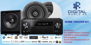 5.1 Home-Theatre Speaker Package